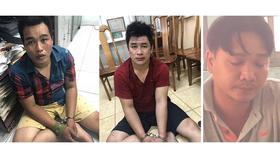 3 đối tượng (từ trái qua): Phú, Tài và Hùng