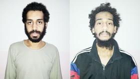 Hai nghi phạm Alexanda Amon Kotey (trái) và El Shafee Elsheikh. Nguồn: Reuters