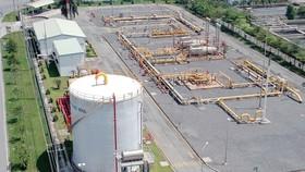 Trạm phân phối khí tại KCN Hiệp Phước. Ảnh: CAO THĂNG