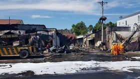 Vụ cháy xe bồn chở xăng ở Bình Phước: Xác định danh tính các nạn nhân