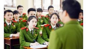 Nhiều điểm mới trong tuyển sinh khối trường công an