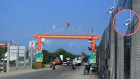 Bức xúc vì rác thải ô nhiễm, người dân xã Bình Châu đã tự nguyện đóng góp để lắp đặt camera