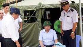 Chủ tịch UBND tỉnh Bình Định trực tiếp chỉ đạo chốt chặn phòng ngừa  dịch tả heo châu Phi