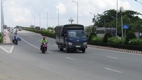 Cầu Phú Long mới, nối liền TPHCM và thị xã Thuận An, giúp địa phương có thêm điều kiện  phát triển kinh tế - xã hội
