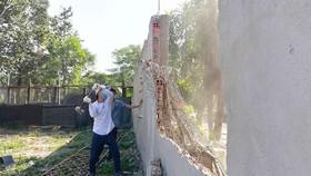 Tổ chức cưỡng chế các công trình xây dựng không phép trên địa bàn phường Linh Trung,  quận Thủ Đức, TPHCM