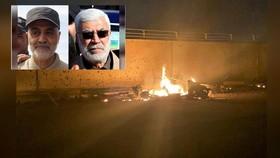 Mỹ tấn công rocket nhằm vào sân bay quốc tế Baghdad, sát hại chỉ huy đặc nhiệm Iran tại Iraq