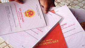 Đẩy nhanh tiến độ cấp giấy chứng nhận quyền sử dụng đất
