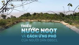 Thiếu nước ngọt và cách ứng phó của người dân ĐBSCL