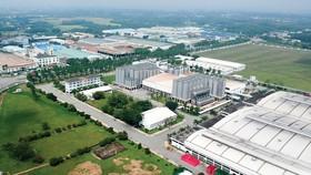 Một góc Khu công nghiệp Tây Bắc, huyện Củ Chi, TPHCM. Ảnh: CAO THĂNG
