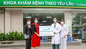VietinBank  trao tặng 5 máy trợ thở đặc biệt với tổng trị giá 3 tỷ đồng cho Bệnh viện Bạch Mai