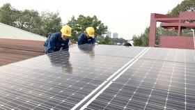 Đẩy mạnh phát triển điện mặt trời áp mái tại các KCN - KCX