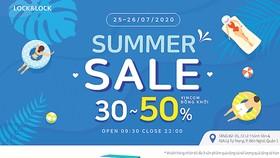 Summer Sale ưu đãi lên đến 50% tại Lock&Lock Vincom Đồng Khởi