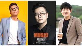 Các nhạc sĩ (từ trái qua: Hứa Kim Tuyền, Nguyễn Minh Cường, Nguyễn Văn Chung)  đã tạo được dấu ấn âm nhạc qua các album, dự án đặc biệt
