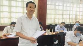 Phó Chủ tịch Thường trực HĐND TPHCM Phạm Đức Hải phát biểu tại buổi giám sát