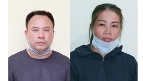 Phan Văn Mười và Vũ Thị Vân bị bắt vì hành vi tổ chức người vượt biên trái phép