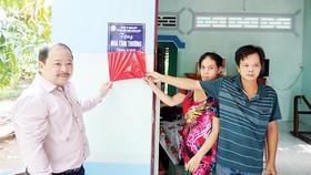 Công ty TNHH MTV Xổ số kiến thiết tỉnh Đồng Tháp trao nhà tình thương tại phường 6, thành phố Cao Lãnh