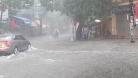 Từ trưa nay 16-10, áp thấp nhiệt đới đi vào đất liền các tỉnh Trung Trung bộ, gây mưa rất to