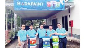 Sản phẩm sơn nước Hoda Paint chính thức đến với người tiêu dùng