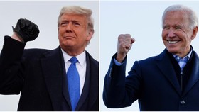 Bầu cử Mỹ 2020: Joe Biden đang dẫn trước Donald Trump