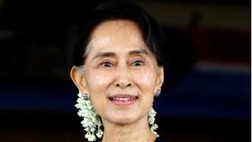 Đảng của bà Aung San Suu Kyi đã vượt qua ngưỡng 322 ghế để tiếp tục nắm quyền. Ảnh: REUTERS