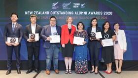 6 cựu du học Việt Nam tại New Zealand được tôn vinh năm 2020. Nguồn: VTV