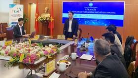 Thứ trưởng Bộ TT&TT Nguyễn Huy Dũng phát biểu tại Lễ ra mắt nền tảng phát triển chính phủ số Flex Digital. Ảnh: VGP