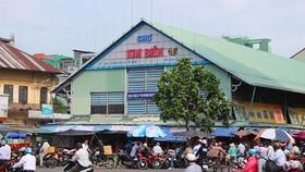 Trưởng Ban quản lý chợ Kim Biên bị đâm tử vong tại phòng làm việc