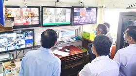 Đoàn kiểm tra hoạt động ở các khu cách ly  trong khách sạn tại TPHCM