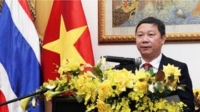 Phó Chủ tịch UBND TPHCM Dương Anh Đức phát biểu tại lễ kỷ niệm