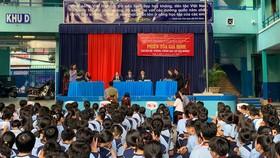 Chi hội Luật sư bảo vệ quyền trẻ em TPHCM tuyên truyền pháp luật cho học sinh  Trường THCS Lê Quý Đôn, quận 3