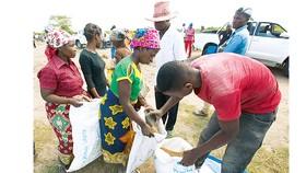Chương trình Lương thực thế giới cứu trợ người dân Mozambique