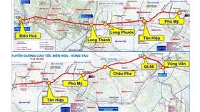 Vốn nhà nước cho dự án cao tốc Biên Hòa - Vũng Tàu khoảng 6.770 tỷ đồng
