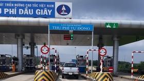 Xe dán thẻ Etag đi cao tốc TPHCM - Long Thành - Dầu Giây vẫn phải trả tiền mặt