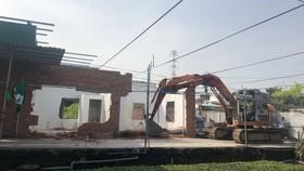 Qua kiểm tra, giám sát, quận Thủ Đức đã cưỡng chế tháo dỡ nhiều công trình vi phạm trật tự xây dựng