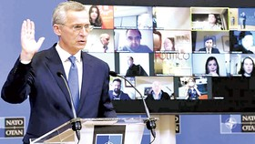 Hội nghị trực tuyến của NATO