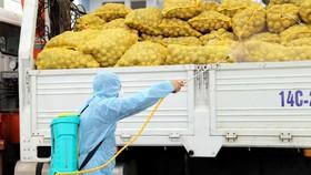 Hỗ trợ tiêu thụ nông sản ở các vùng dịch