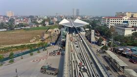 Đường sắt đô thị Nhổn - ga Hà Nội lùi thời điểm khai thác