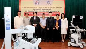 JICA tặng Bệnh viện Trung ương Huế thiết bị y tế