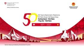 50 năm quan hệ tốt đẹp Việt Nam-Thụy Sĩ