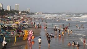 Bà Rịa - Vũng Tàu: Lượng khách tăng mạnh