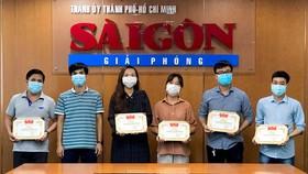 """Trao Giải thưởng """"Ngòi bút trẻ 2021"""" cho 5 phóng viên Báo Sài Gòn Giải Phóng"""
