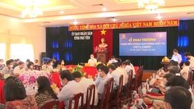 Phú Yên khai trương hệ thống phòng họp không giấy