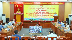 Quang cảnh Hội nghị. Ảnh: http://mattran.org.vn