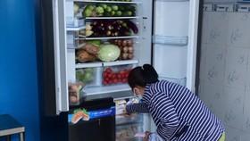 """Người dân có thêm thực phẩm  từ """"Tủ lạnh Thạch Sanh"""""""