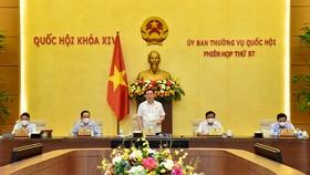 Ủy ban Thường vụ Quốc hội tiến hành phiên họp thứ 58