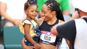 Nữ VĐV Allyson Felix chọn nhà tài trợ nhỏ vì cô được tôn trọng