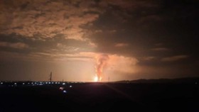 Vụ nổ kho đạn tại Kazakhstan. Nguồn: Al Jazeera