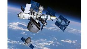 Một mô hình thiết kế được cho là trạm vũ trụ mới của Nga