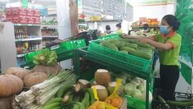 Hàng hóa tại các siêu thị có thượng hiệu vẫn giữ ổn định