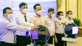 Lễ phát động cuộc thi bình chọn ý tưởng điều chỉnh quy hoạch chung TPHCM đến năm 2040, tầm nhìn 2060. Ảnh: Hoàng Hùng